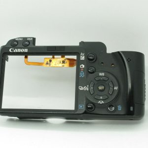 CANON 500D REAR COVER WITH BUTTONS NO GLASS NO LCD REPAIR REPLACEMENT PART TEIL  | eBay
